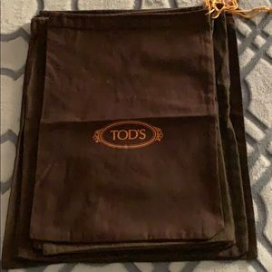 Tod's Dust Bags for 6 pieces